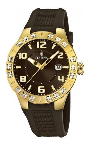 reloj festina golden dream f165824 mujer | envío gratis