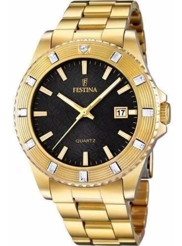 reloj festina golden dream f166865 mujer | envío gratis