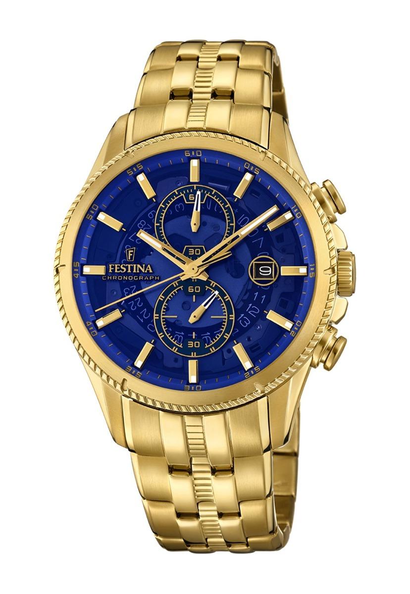 9aec27a64b6c Reloj F20269 2 Dorado Festina Hombre Prestige -   220.000 en Mercado ...