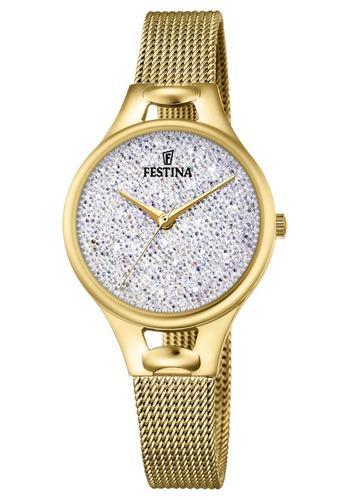 reloj festina mademoiselle swarovski f20332/1   envío gratis