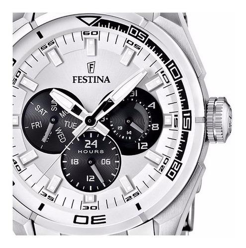 reloj festina multifunción f16608/1 hombre | agente oficial