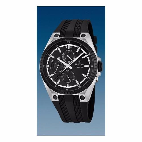 reloj festina multifunción f16834/1 hombre | agente oficial