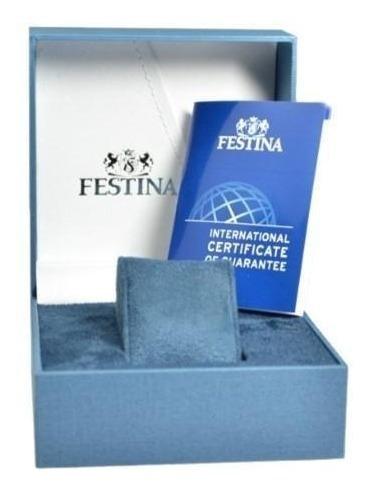 reloj festina quartz f6833/3 hombre | original envío gratis