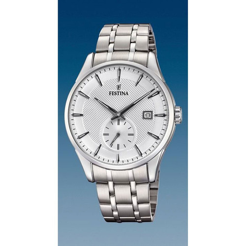reloj festina retro quartz f20276/1 hombre | envío gratis
