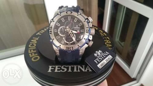 reloj festina tour de francia f16601/1 100% original en caja
