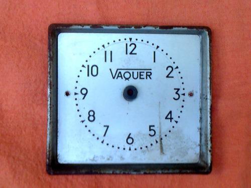 reloj fichador marca vaquer