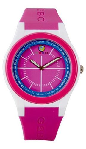 reloj fino coral violeta