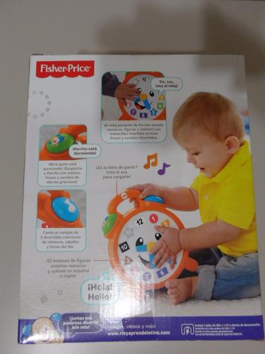 reloj fisher price