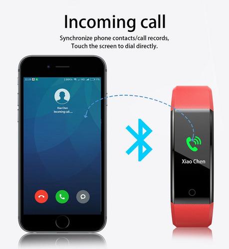 reloj fitness ejercicios inteligente para android .ios