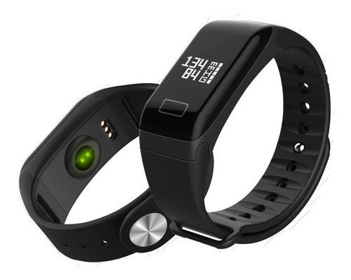 reloj fitness smartband f1 frecuencia cardiaca monitor