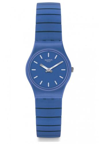 reloj flexiblu s azul swatch