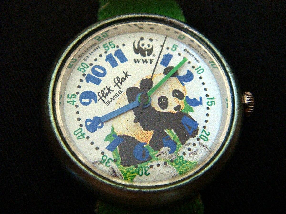 bd8464e536b3 Reloj Flik Flak Swiss Edición Wwf Para Niño -   449.00 en Mercado Libre