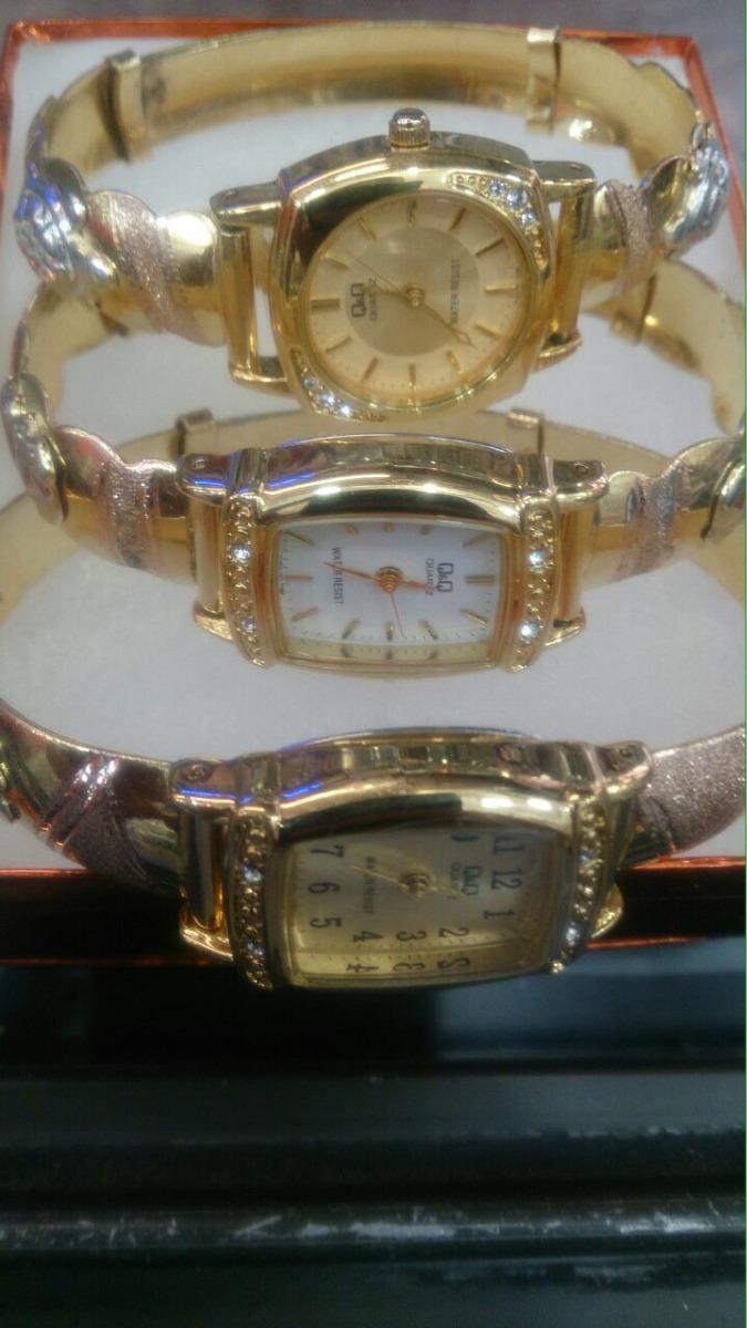 Reloj oro laminado hombre
