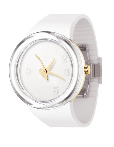 reloj formal - odm - dd blanco femenino