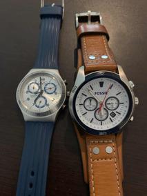 Irony Reloj Swatch Modelo para Acero Inox Fechador Caballero GzVUqSpM