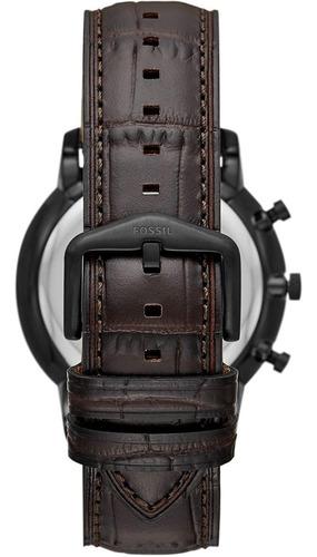 reloj fossil acero-cuero originales nuevos en caja