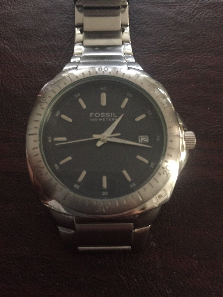 a3e685f45352 Reloj Fossil Am3929 Para Hombres Acero Inoxidable - S  149