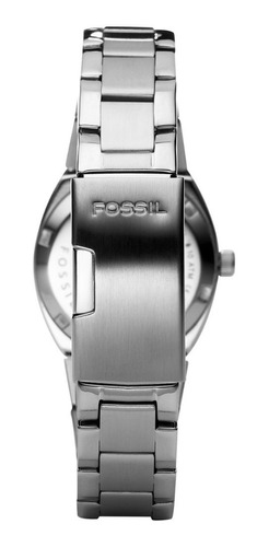 reloj fossil am4141 serena silver-tone stainless steel mujer