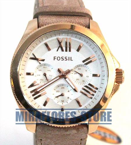 9c34e896d11a reloj fossil am4532 cecile dorado correa de cuero para dama D NQ NP 486501  MPE20353533680 072015 O