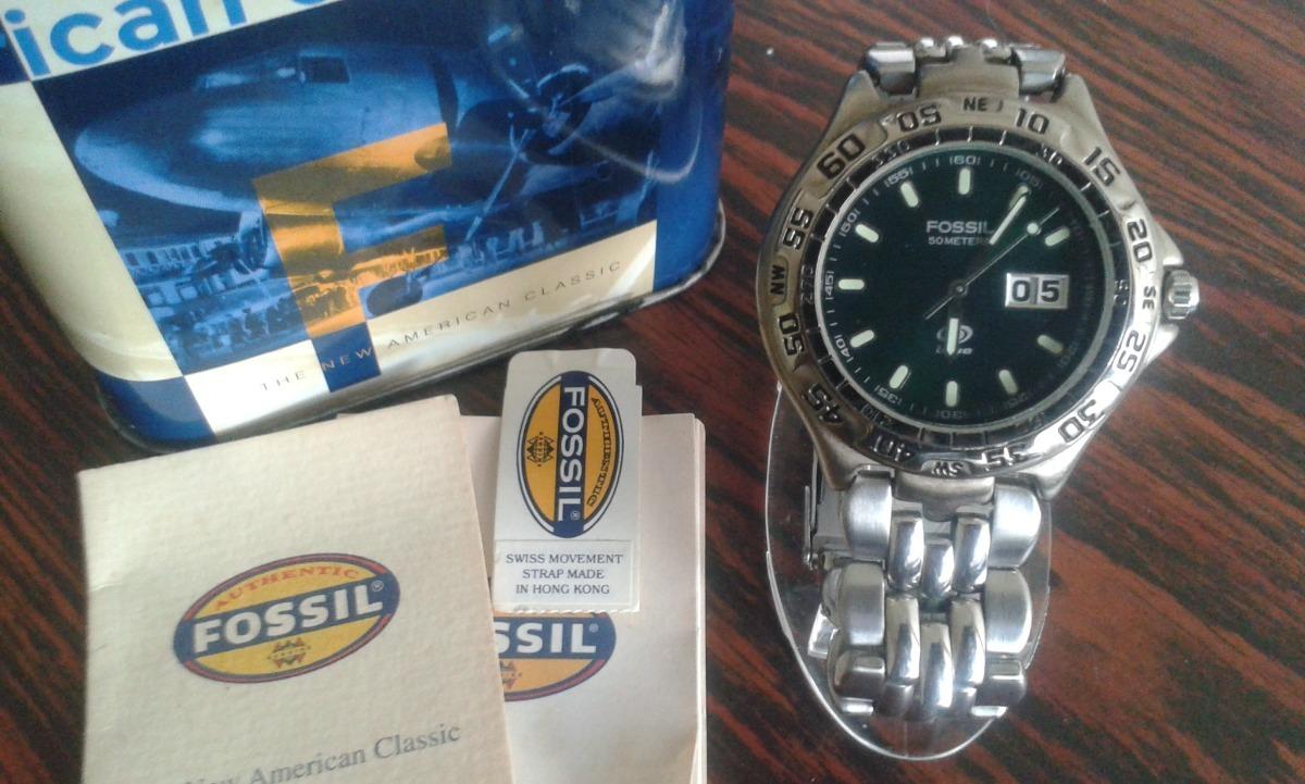 427e1b861aa3 reloj fossil blue am-3238 original. Cargando zoom.
