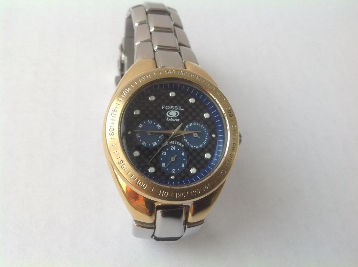 b25dfd380d3d reloj fossil blue cuarzo multifuncional excelente estado. Cargando zoom.