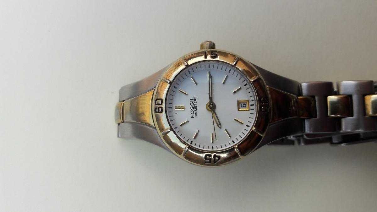 73ca8183f03a reloj fossil blue de mujer 100m. Cargando zoom.