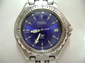 0f863d9c88a1 Reloj Fossil Blue Diver De Cuarzo