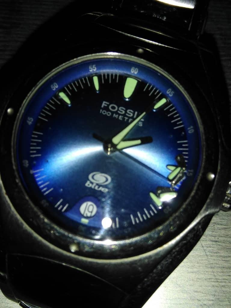 c3ebf71f8b20 reloj fossil blue modelo am-3709 original para caballero. Cargando zoom.