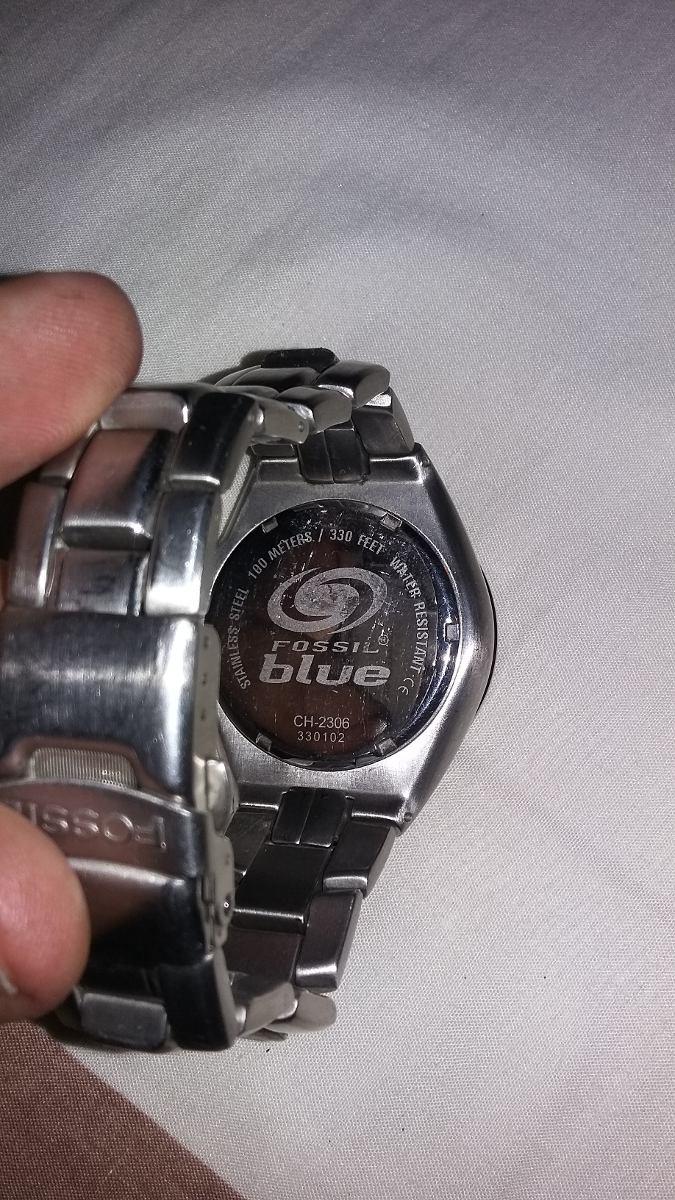 24bd266bb407 reloj fossil blue original. Cargando zoom.