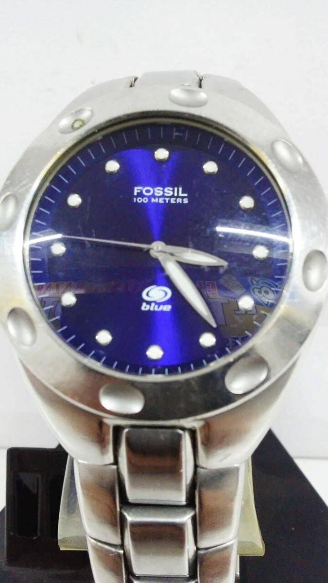 2e2f38dc073a Cargando zoom... reloj fossil blue ...