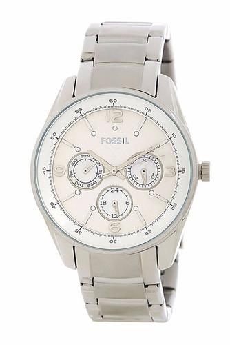 reloj fossil bq 1474 plata original