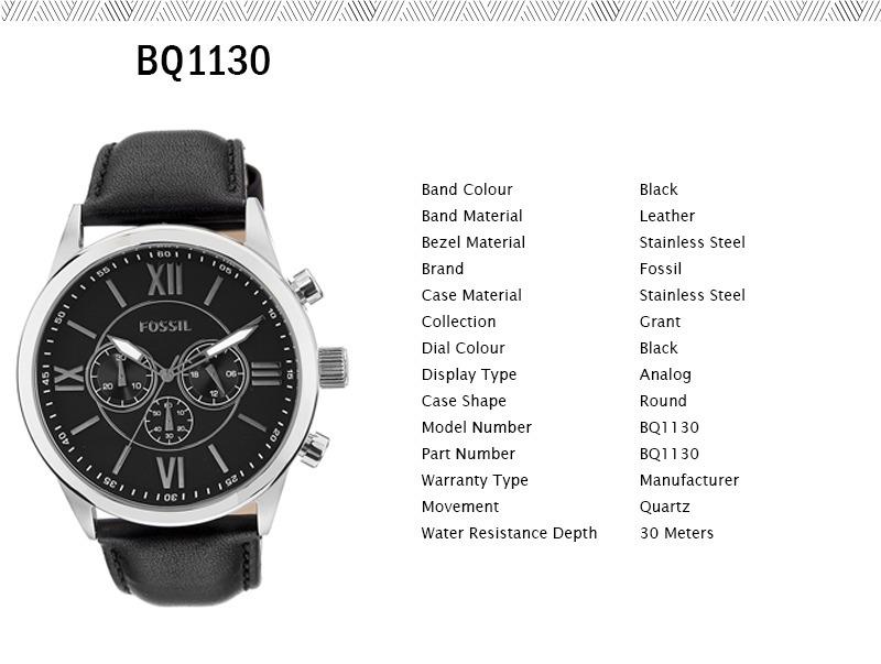 da94b5e511b6 reloj fossil bq1130 quartz hombre correa watchsalas . Cargando zoom.