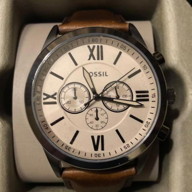 d673853bcf07 Reloj Fossil Bq1131 Quartz Hombre Correa watchsalas  -   2