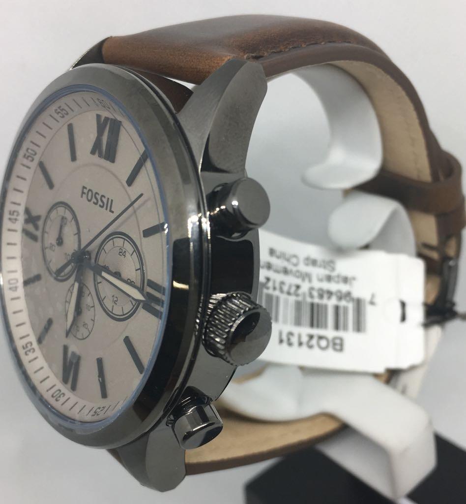 02a29cfee310 reloj fossil bq1131 quartz hombre correa watchsalas . Cargando zoom.