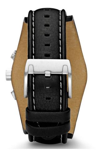 reloj  fossil ch 2564 cuero 100% original cronografo