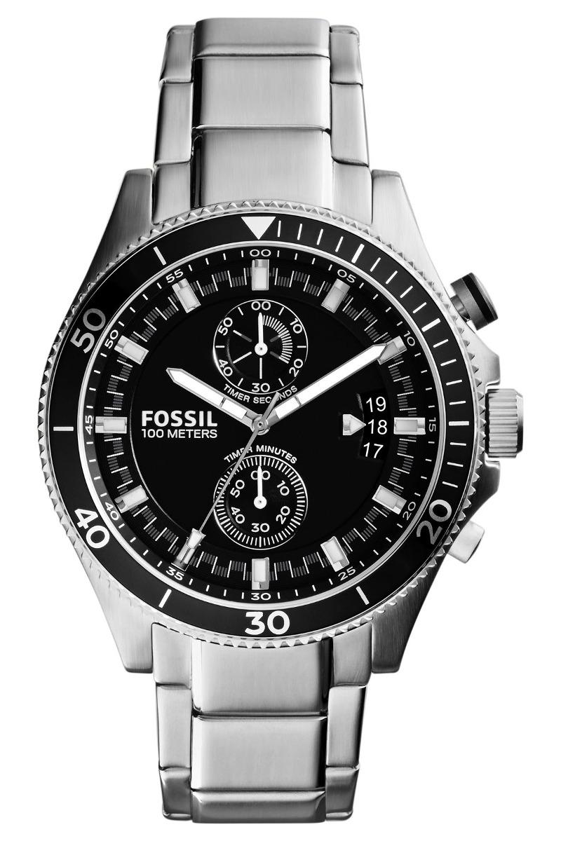 cd298f57f7ef reloj fossil ch2935 plateado hombre original envío gratis . Cargando zoom.
