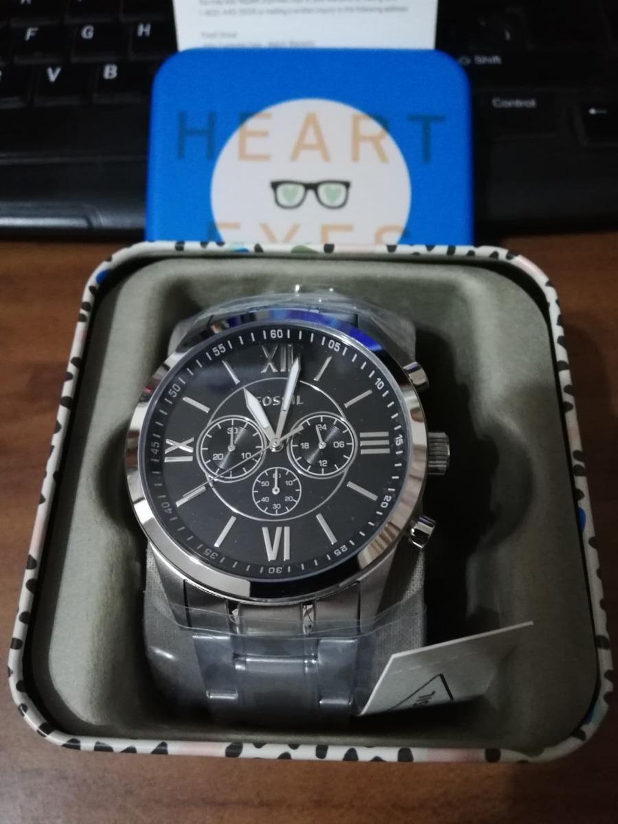 e9f225f9d812 reloj fossil cromo azul caballero gratis cajita original!! Cargando zoom.
