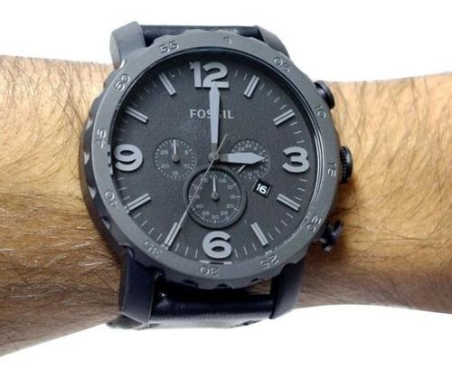 reloj fossil cronógrafio jr1354 - 100% nuevo en caja