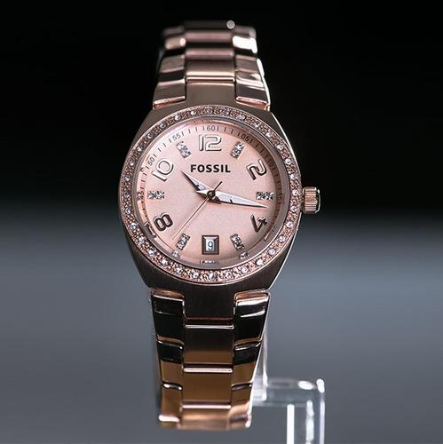 reloj fossil dama am 4508 en caja