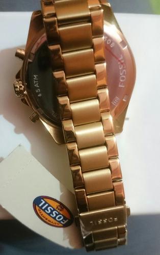 reloj fossil dama bq 1775 original en caja model 2015