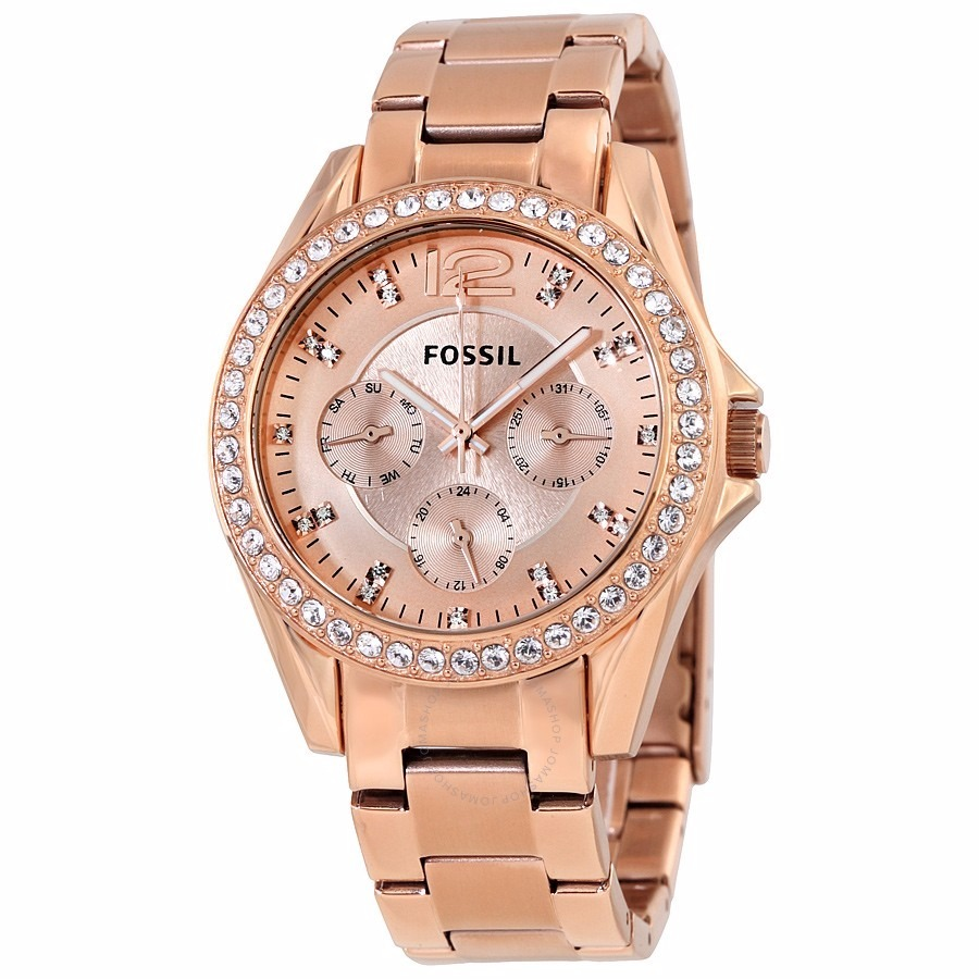 Relojes fossil mujer oro rosa