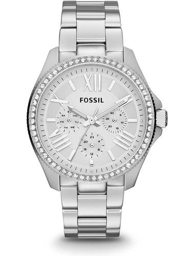 reloj  fossil de la mujer de 40 mm pulsera de acero y caja d