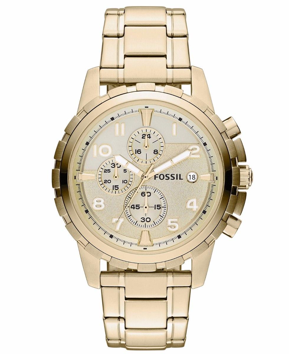 Relojes fossil dorados de hombre – Anillos hombre 1a17313f3bae