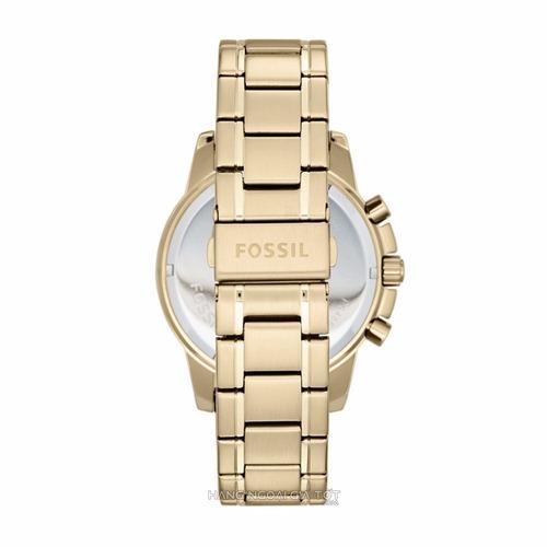 reloj fossil dean fs4867 dorado cronograph para caballero*