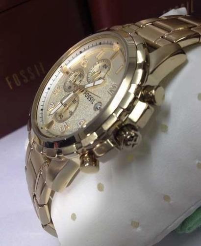 reloj fossil dean fs4867 en stock original en caja garantía