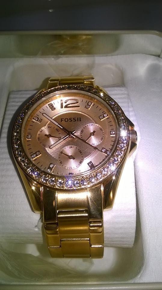 aa7b64f0f2b9 reloj fossil es2811 riley rose gold-tone. Cargando zoom.