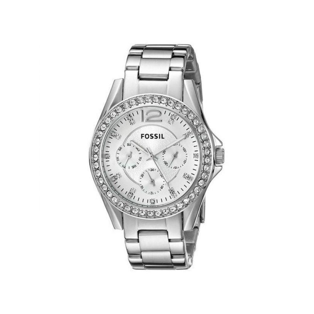 18843aec2d29 Reloj Fossil Es3202 Acero Plateado Mujer -   339.900 en Mercado Libre