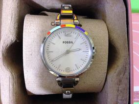 aa1a85c3a5c7 Fajitas De Piel - Reloj para Mujer Fossil en Mercado Libre México