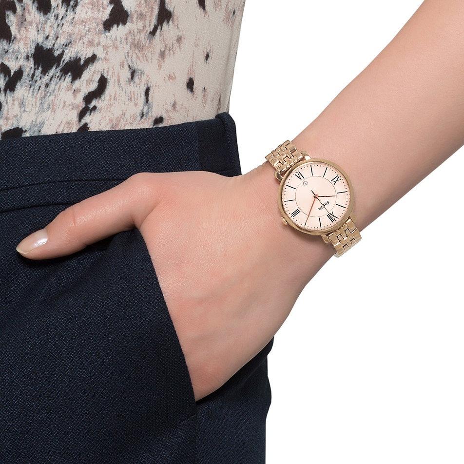 1e4c0d01b280 reloj fossil es3435 jacqueline acero oro rosa original dama. Cargando zoom.