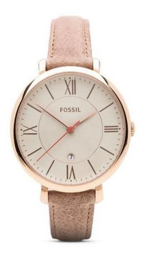 reloj fossil es3487 cuero marron mujer